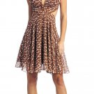 Cheap Sexy Light Brown Cocktail Dress Short Party Brown Halter Dress | DiscountDressShop.com 1108NX