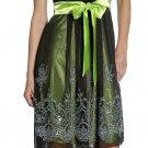 Short Lime Cocktail Dress Mesh Empire Waist Lime Bridesmaid Dress | DiscountDressShop.com 2146JU
