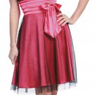 Cheap Fuchsia Bridesmaid Dress Fuchsia Cocktail Fuchsia Prom Dress | DiscountDressShop.com 614SB