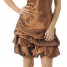 Brown Cocktail Dress Cheap Bubble Dress Brown Prom Dress Discount | DiscountDressShop.com 2892PO