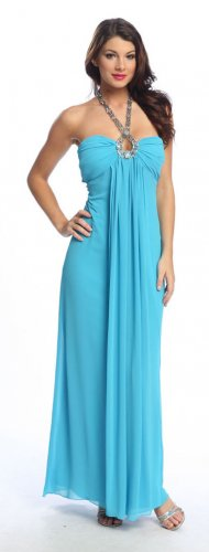 Cheap Grecian Teal Gown Cocktail Teal Prom Gown Teal Party Dresses   DiscountDressShop.com 1080NX