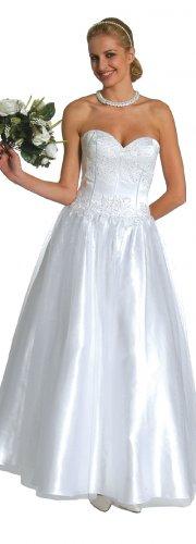 Pink Princess Dress Strapless Pink Ballroom Gown Quinceanera Dress | DiscountDressShop.com 1049JU