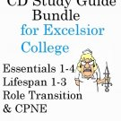 Excelsior College Nursing Exam bundle Essentials, Lifespan, Transitions and CPNE