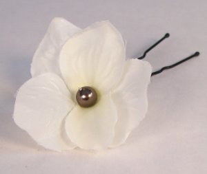 Belle Flower Pearl Hairpin