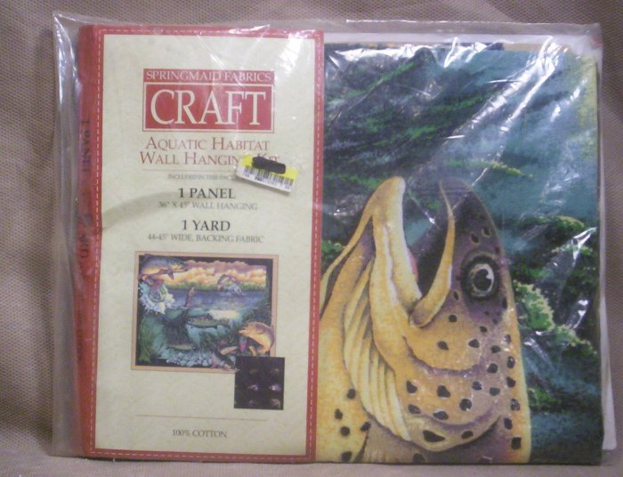 Aquatic Habitat Wall Hanging Kit,  Item # 04-0010010060004