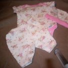 3 Piece girls Preemie Set, Gerber