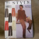 Style Ladies Perfect Timing Pants Pattern #2943, S-XXL