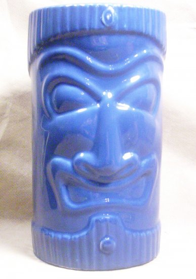 Blue Tikki Totem Bank, Item # 04-001001060001