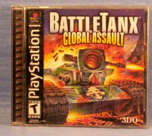 BattleTanx Global Assault, PlayStation, Item # 09-001001060003