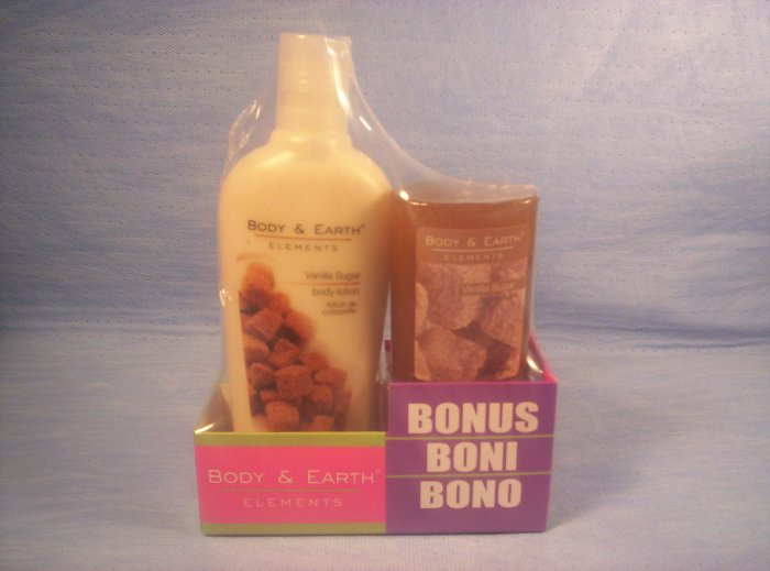 Body Elements, Vanilla Spice Body Lotion & Glycerin Soap, Item # 05-001014060026