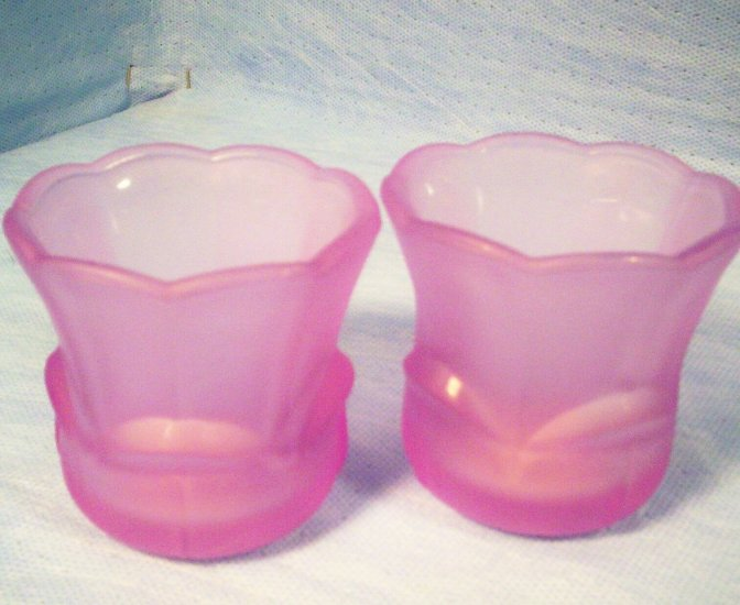 Set of 2 Tulip Votive Candle Holders, Item # 04-001014060018