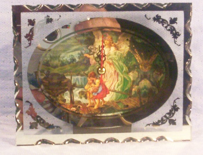 Guardian Angel on Bridge Clock, Item # 04-001016060021