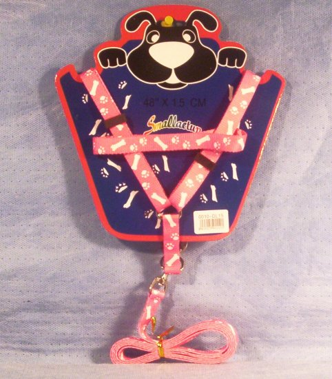 Pink Pet Body Harness, Item # 06-001016060002