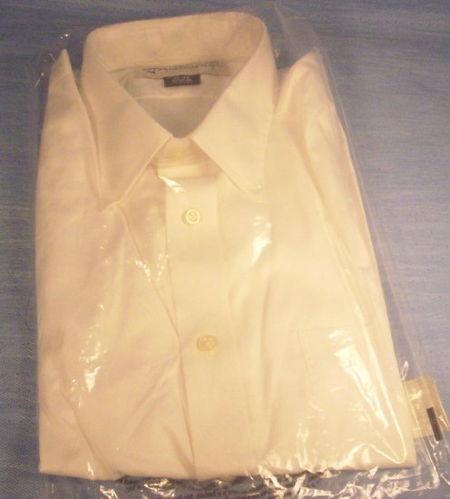 Men's LS Size 15.5 Beige Button Front Shirt, Item # 10-001016060008