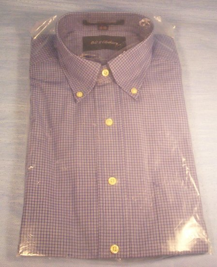 New Men's OCS Clothiers Button Down LS Shirt, Item # 10-001016060005