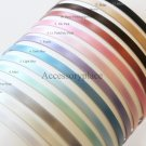 You Pick 5pcs..5mm Satin Ribbon Covered Metal(Steel) Headbands from13 available colors