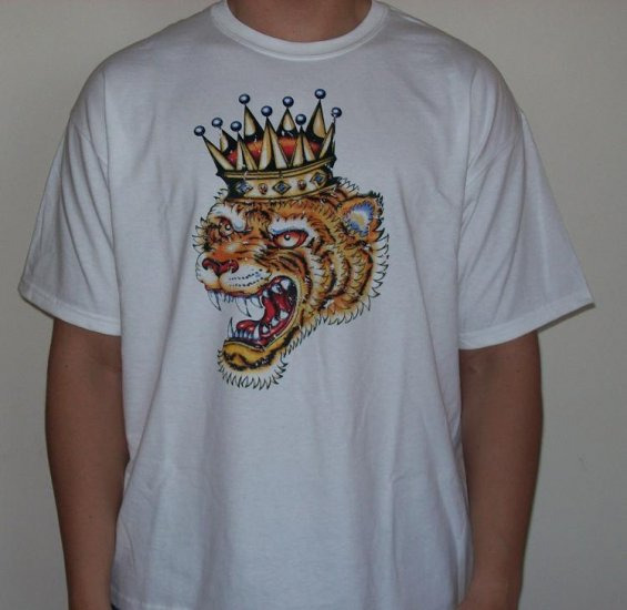 tiger tattoo t-shirt