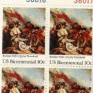 US Stamp Block US BICENTENNIAL .10c MNH  #1564