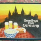 Brand New GREETINGS FROM GERMANY postcard GERMANY