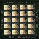 #3556 MNH 34c &quot;Mentoring a Child&quot; Sheet of 20 US