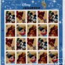 #3865-68 The Art of Disney: Friendship Sheet (Sealed)