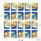 "US MNH  ""CHRISTMAS HOLIDAY COOKIES"" STAMP SHEET 37 c"