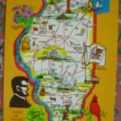 "Brand New ""ILLINOIS"" map postcard - US"