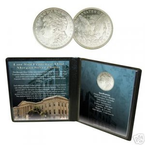 Last San Francisco Mint Morgan Silver Dollar