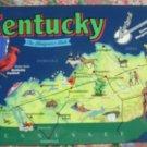 """Brand New """"KENTUCKY"""" map postcard - US"""