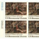 US Stamp Block  US BICENTENNIAL GEN. HERKIMER .13 MNH