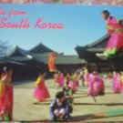 "Brand New ""HELLO FROM SOUTH KOREA"" ACROBATICS postcard"