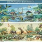 #3136 US WORLD OF DINOSAURS SOUVENIR SHEET OF 15 32¢