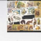 RUSSIA  Collection of Animal Mint Stamps