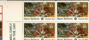US #1561 HAYM SOLOMON  US Mint Stamps BLOCK
