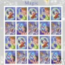 US Mint Sheet of The Art of Disney MAGIC stamps .41c