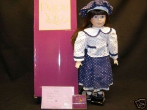 "Designs by Yoko ""Betty""  Porcelain Doll New"