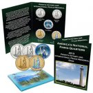 National Park Quarter Set Perry's Victory and International Peace Memorial OHIO