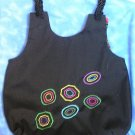 Retro Dots Embroidered Purse