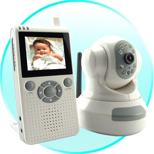 Wireless Infant Monitor with Audio and Night Vision
