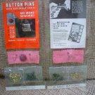 VINTAGE RISDON BUTTON PIN CARD!