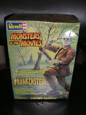 FRANKENSTEIN: MONSTERS OF THE MOVIES KIT FROM REVELL!