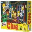 SIMPSONS CLUE 2nd EDITION by PARKER BROTHERS-HOMER,MARGE,BART,LISA,SMITHERS & KRUSTY-BRAND NEW!