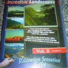 INCREDIBLE LANDSCAPES RELAXATION SENSATION SERIES VOL. 8(2003) DVD by SUNRISE PRODUCTIONS-NEW!
