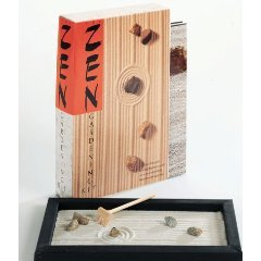 The zen gardening kit by running press make your own for Make your own japanese garden