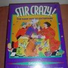 STIR CRAZY! DINNER PARTY GAME by DECIPHER GAMES - ORIENTAL VERSION -  NEW IN SHRINKWRAP!