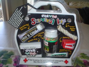 OVER THE HILL SURVIVAL KIT by FACTORY CARD and PARTY OUTLET - BRAND NEW!