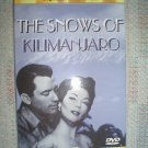 THE SNOWS OF KILIMANJARO DVD (1952) STARRING: GREGORY PECK, SUSAN HAYWARD - BRAND NEW!