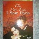 THE LAST TIME I SAW PARIS DVD STARRING: ELIZABETH TAYLOR; VAN JOHNSON!