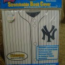 NEW YORK YANKEES OFFICIAL LOGO STRETCHABLE BOOK COVER - BRAND NEW!