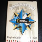 NATIONAL GEOGRAPHIC COLLECTIBLES POKER PLAYING CARDS-EXPEDITION-EDUCATIONAL CARDS BRAND NEW-SEALED!
